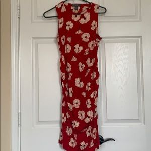Maternity dress fitted size medium